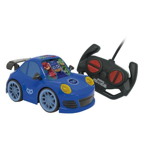 Carrinho de Controle Remoto - PJ Masks - Autobravo - Menino Gato - Candide