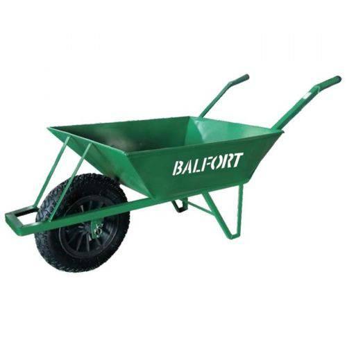 Carrinho de Mão Industrial Caixa Funda de Ferro 100kg Reforçado Balfort