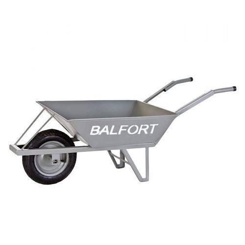 Carrinho de Mão Industrial Caixa Funda de Ferro 120kg Reforçado Balfort