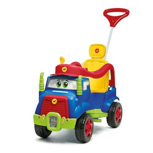 Carrinho de Passeio Mk Truck com Buzina 982 Azul - Calesita