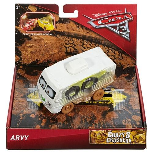 Carrinho - Disney - Cars 3 - Crazy 8 Crashers - Arvy