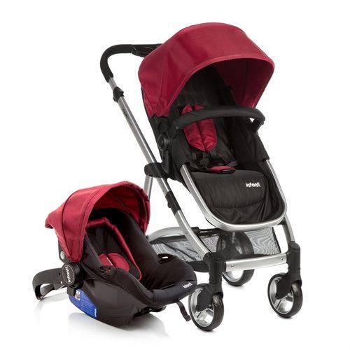 Carrinho Epic Lite com Bebe Conforto Travel System Cherry Cax90255 - Infanti