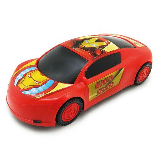 Carrinho Esportivo de Roda Livre Vingadores Homem de Ferro - Toyng