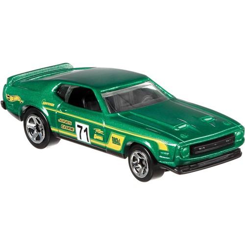 Carrinho Hot Wheels Mustang Racing - 71 Mustang Mach 1 - Verde MATTEL