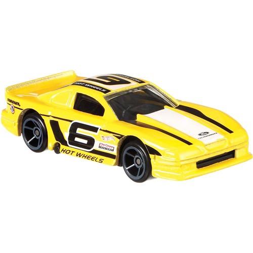 Carrinho Hot Wheels Mustang Racing - Ford Mustang Cobra - Amarelo MATTEL