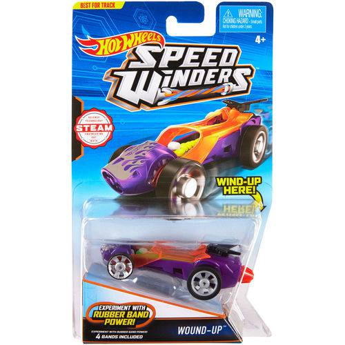 Carrinho Hot Wheels - Speed Winters - Wound-Up - Mattel