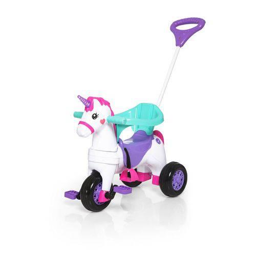 Carrinho Motoca Triciclo Fantasy Rosa - Calesita 1001