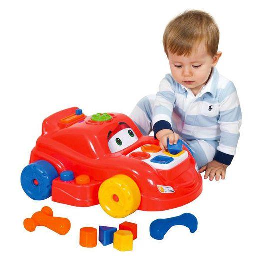 Carrinho Playtime com Atividades - Cotiplás