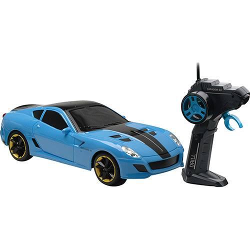 Carrinho Rádio Controle Drill Azul - Candide