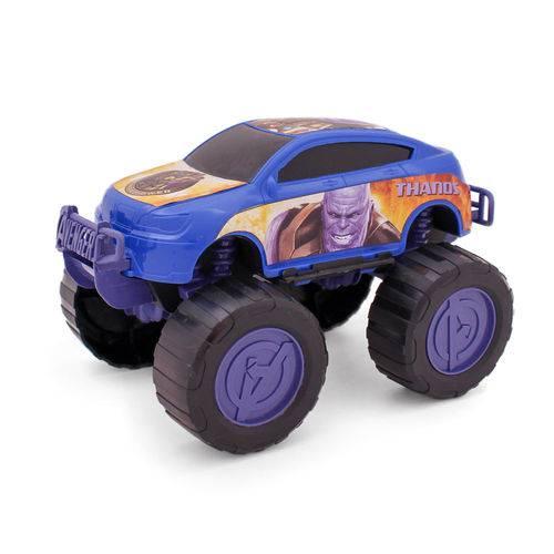 Carrinho Roda Livre - Monster Car - Avengers - Thanos - Marvel - Toyng