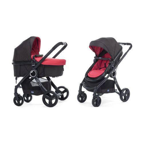 Carrinho Urban Plus + Color Pack Red Wave Chicco