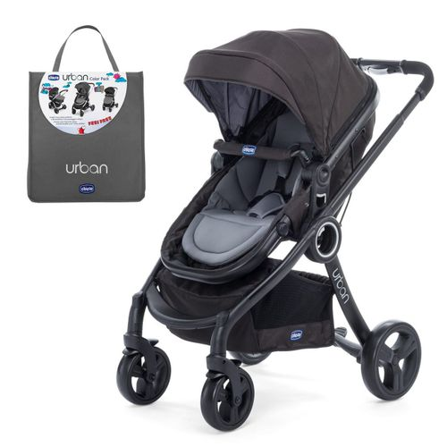 Carrinho Urban Plus + Color Pack Urban Anthracite - Chicco
