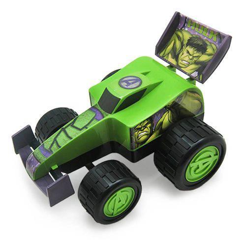 Carrinho Vingadores Fórmula Monster Roda Livre 28 Cm Hulk - Toyng