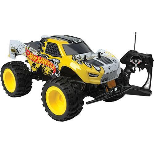 Carro com Controle Remoto Monster Truck Hot Wheels Candide