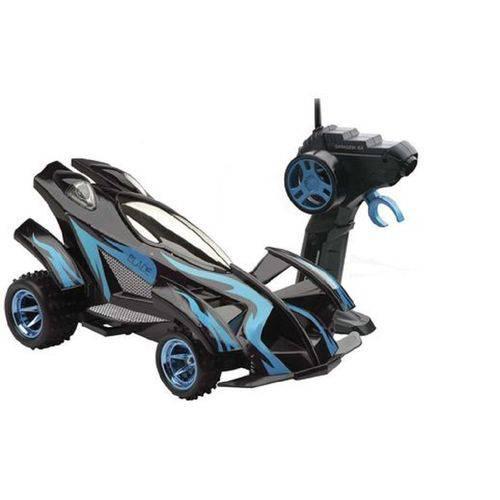 Carro Cont. Remoto Blade Azul Bateria Recarregável Candide
