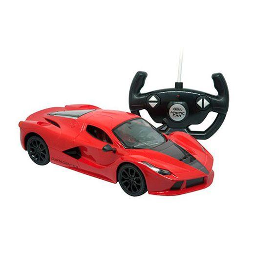 Carro Controle Remoto 7 Funções Mate Carros Vermelho - Candide