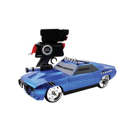 Carro Controle Remoto Battle Camaro Azul - Candide