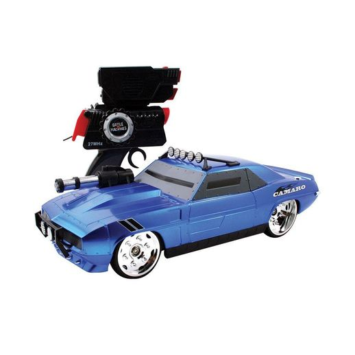 Carro Controle Remoto Battle Machine Silverado Dooley Azul - Candide