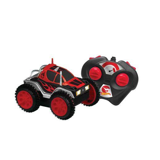 Carro Controle Remoto 3 Funções Hot Wheels Vermelho - Candide