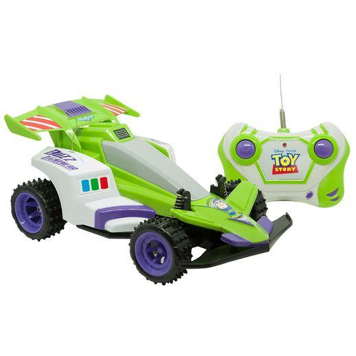 Carro Controle Remoto 3 Funções Toy Story Space Ranger - Candide