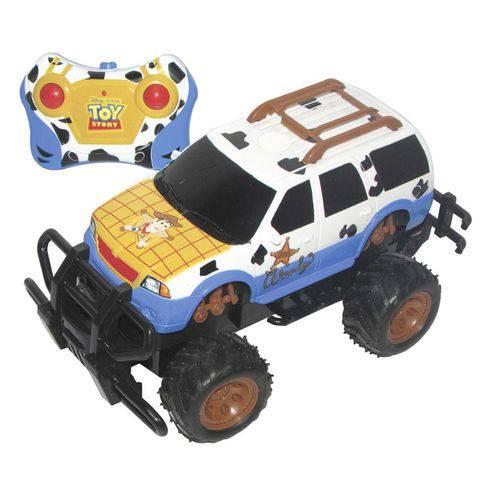Carro Controle Remoto 3 Funções Toy Story Woody - Candide
