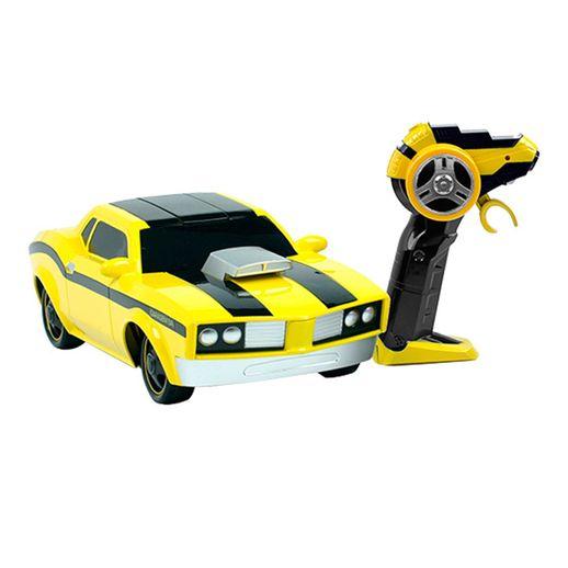 Carro Controle Remoto Muscle Amarelo - Candide