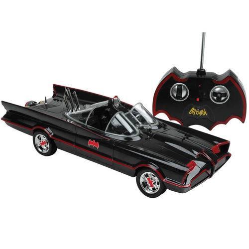 Carro de Controle Remoto - Batmóvel Série Clássica de Tv CAN