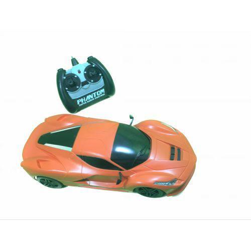Carro de Controle Remoto Lamborghini 7 Funções Laranja