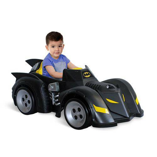 Carro Elétrico Infantil Batman 6V Liga Justiça Bandeirante