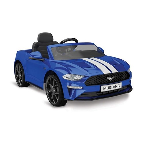 Carro Ford Mustang Azul Elétrico 12v com Controle Remoto - Bandeirante - BANDEIRANTE