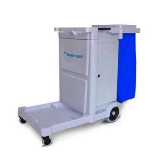 Carro Funcional com Bolsa Azul - Guard - Bralimpia