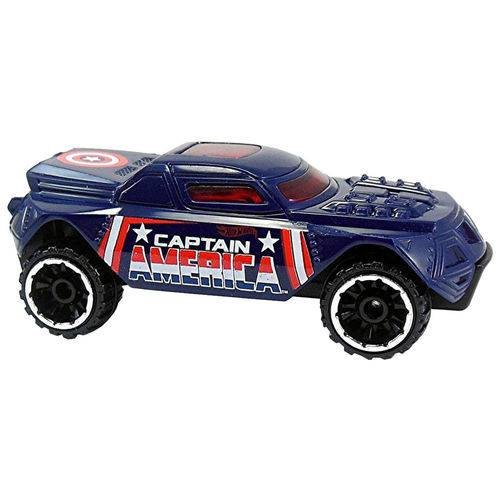 Carro Hot Wheels - Captain America America Rd-08 Djk75