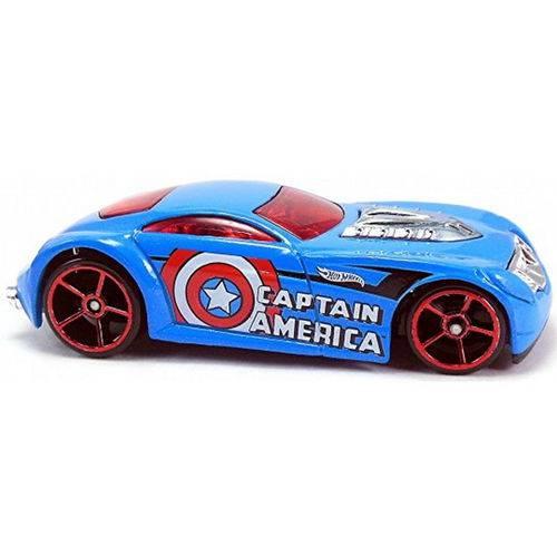Carro Hot Wheels - Captain America Sir Ominous