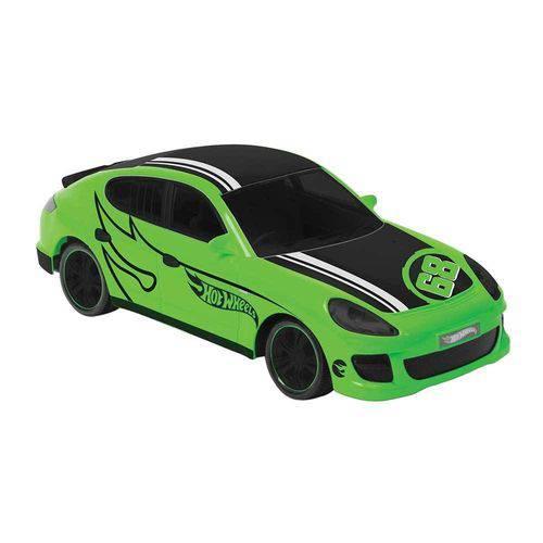 Carro Hot Wheels Rocket Verde com 3 Funções - Candide