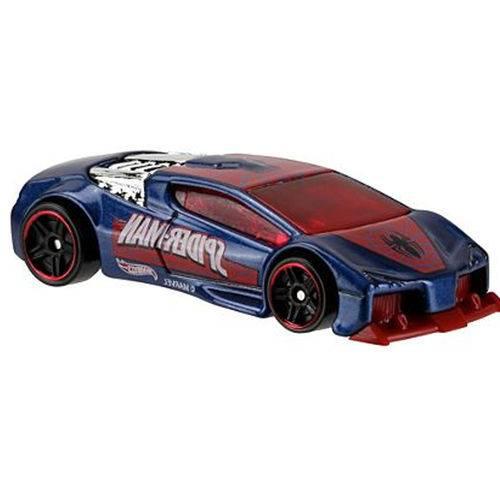 Carro Hot Wheels - Spider-man Vs Sinister Zotic Cmj79