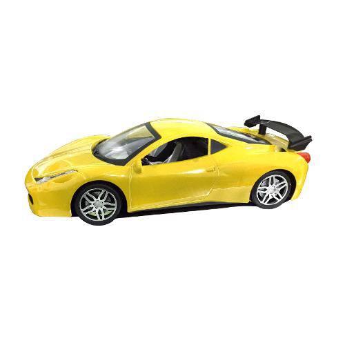 Carro Hurricane com Controle Remoto Sem Fio - Amarelo