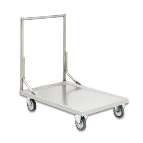 Carro Plataforma Inox Transporte em Geral Fritomaq
