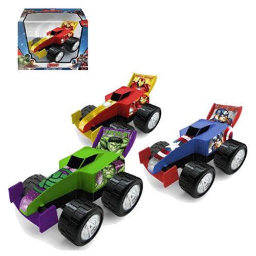 Carro Roda Livre Formula Monster 25 Cm Vingadores/avengers (6711407)