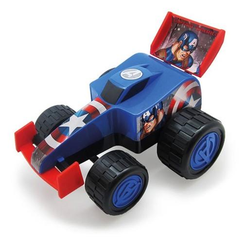 Carro Roda Livre Formula Monster Capitão América