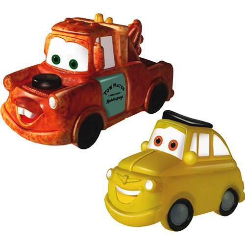 Carros Tow Mater e Luigi em Vinil - Lider