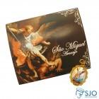 Cartão com Medalha de São Miguel | SJO Artigos Religiosos