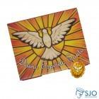 Cartão com Medalha do Divino Espírito Santo | SJO Artigos Religiosos