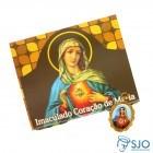 Cartão com Medalha do Imaculado Coração de Maria | SJO Artigos Religiosos