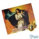 Cartão com Medalha - Nossa Senhora da Imaculada Conceição   SJO Artigos Religiosos