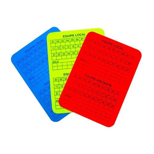 Cartão de Árbitro Poker Juíz de Futsal Campo e Society