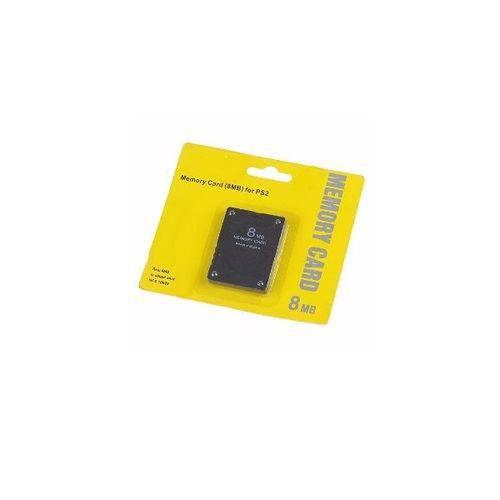 Cartão de Memória 8mb Memory Card Ps2 para Playstation 2