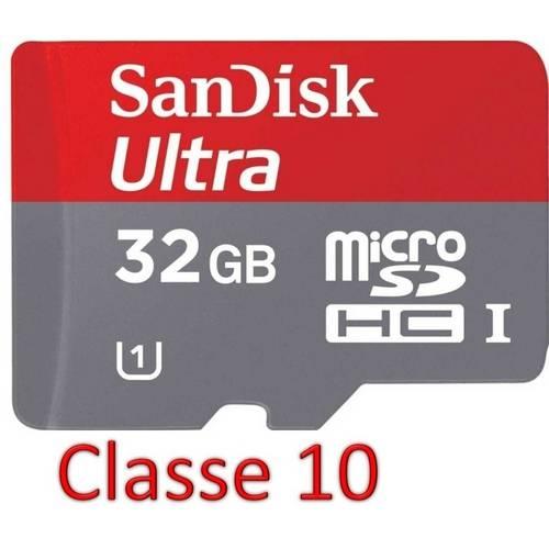 Cartão de Memória Sandisk Micro Sd Ultra Adaptador 32gb