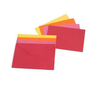 Cartão de Visita com Envelope Hot Mix Teca Teca