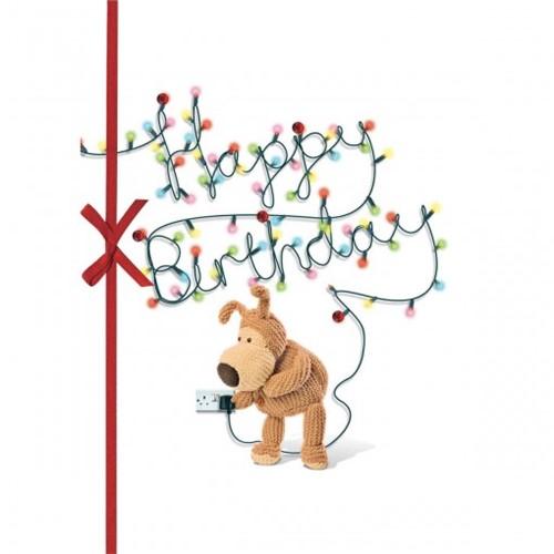 Cartão Handmade Beauty Aniversário Estampa Pisca-pisca Happy Birthday- Grafon's