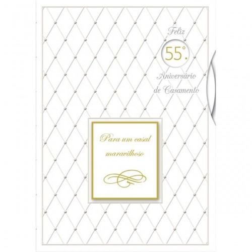 Cartão Handmade Beauty Casamento Estampa Aniversário de Casamento - Grafon's